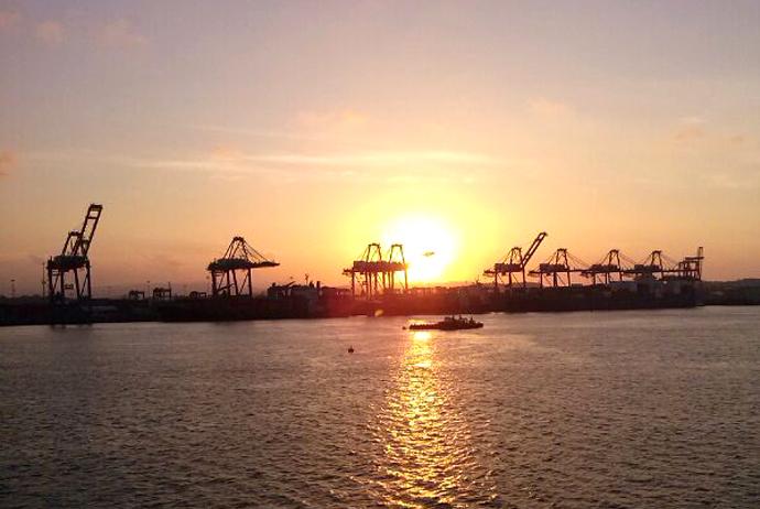 Puerto de Colón, República de Panamá